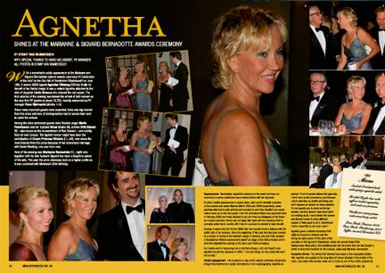 Agnetha article from No. 56
