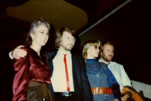 ABBA's last TV performance in Germany- Photo © by Regina Grafunder