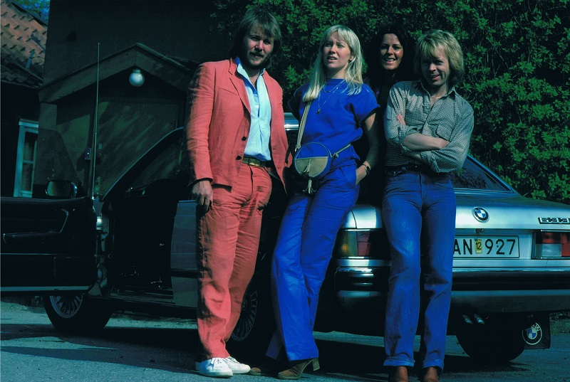 ABBA and their BMW