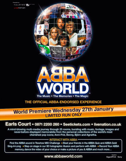 ABBAWORLD London