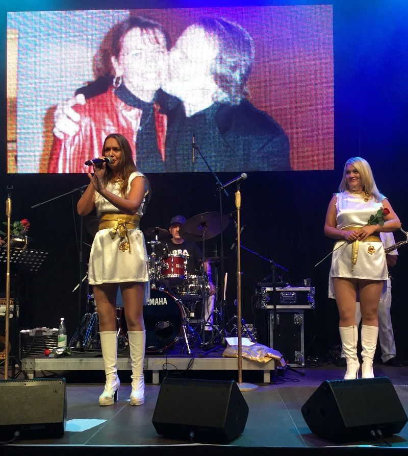 ABBA Deluxe in Essen - Photo © Reiner Wolf