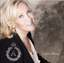 New Agnetha album artwork