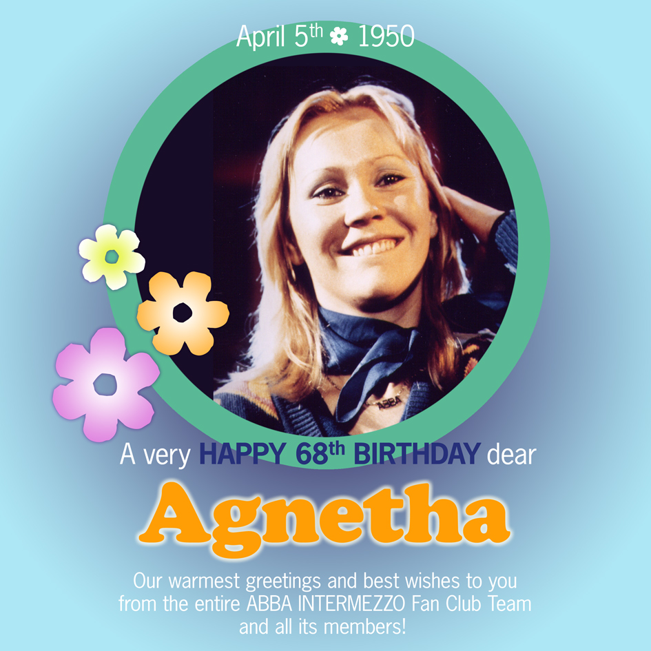 Best Wishes to Agnetha's Birthday