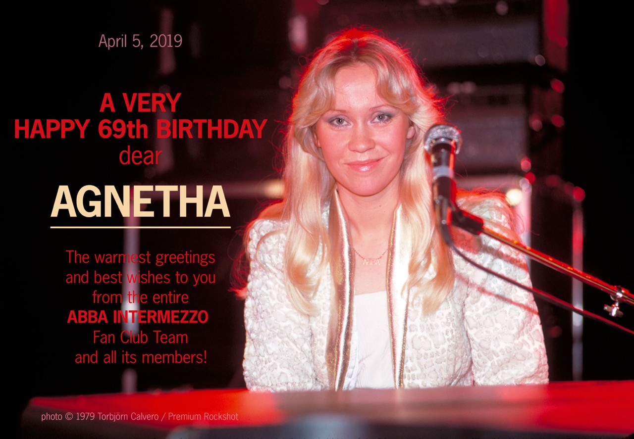Best Wishes to Agnetha