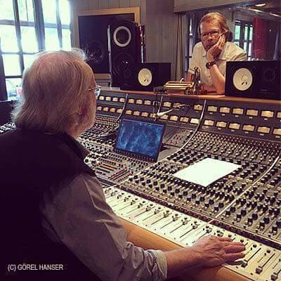 ABBA in the studio - © Görel Hanser