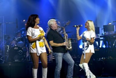 ABBA The Show mit Coverband Waterloo