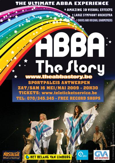 ABBA The Story in Belgium