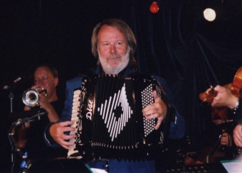 Benny and his accordion