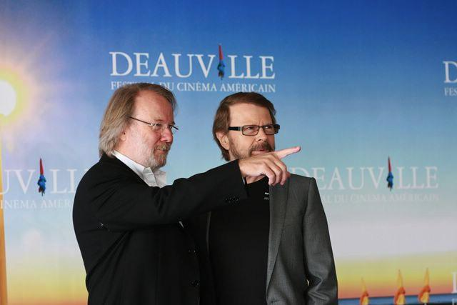 Benny and Björn at the Deauville Festival