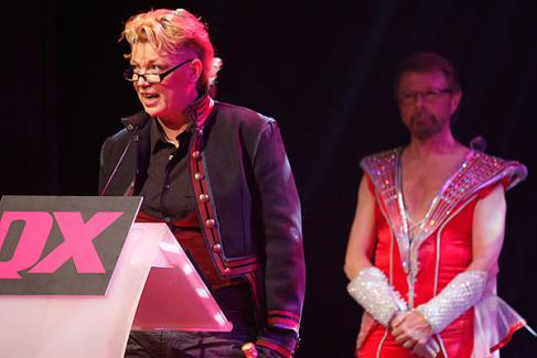 Björn at the QX gala