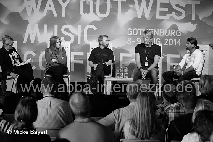 Björn at the Way Out West Music Conference, August 2014