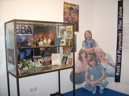 ABBA corner at the Bravo exhibition