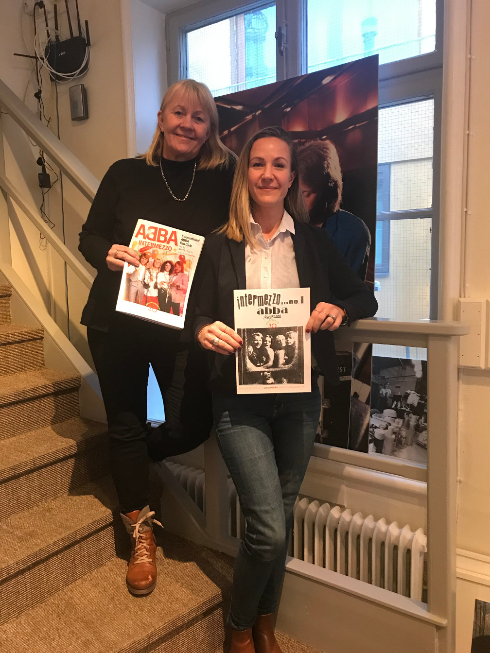 ABBA The Museum: Ingmarie Halling and Caroline Fagerlind