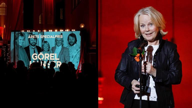 Görel wins a Grammis - Photo: SR