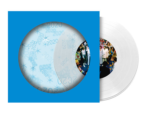 Happy New Year - Clear vinyl limited edition