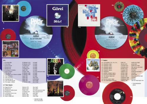 Article on coloured vinyl records