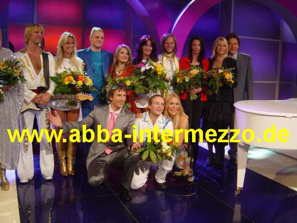 ABBA Die Show on Kabel 1