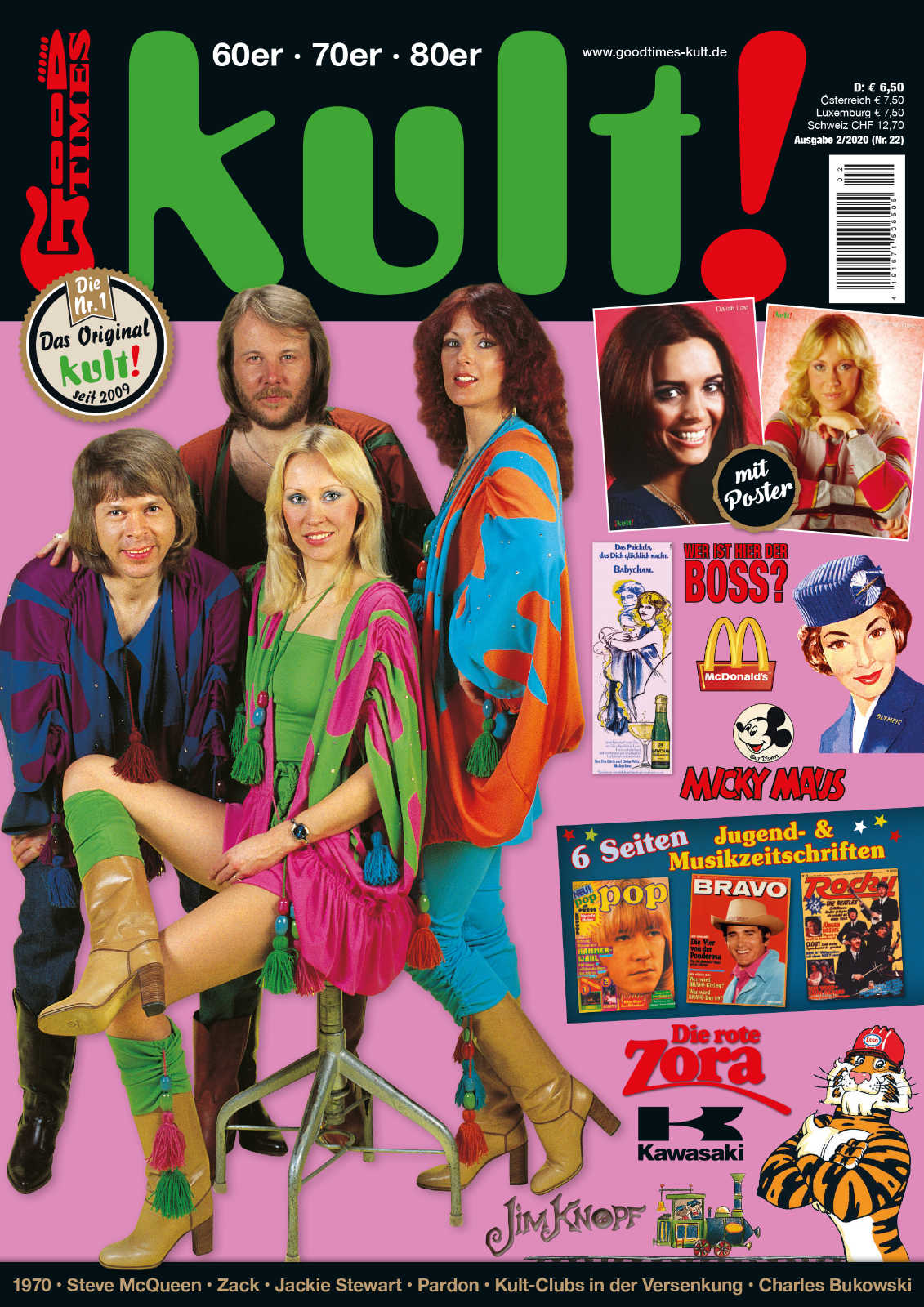 Kult #22 with ABBA part 1