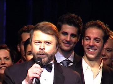 Björn thanking the cast - © Regina Grafunder