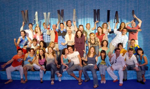 The Essen Mamma Mia! Cast
