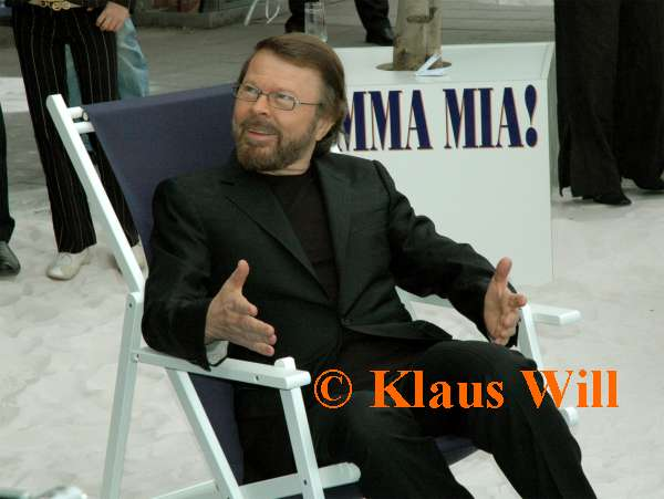 Björn before the premiere - © Klaus Will