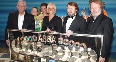 Lots of Platinum Disc Awards for ABBA - Photo by Kristofer Sandberg / Expressen