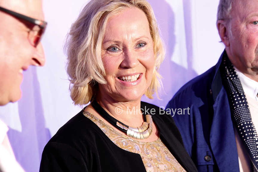 Agnetha at Mamma Mia! The Party