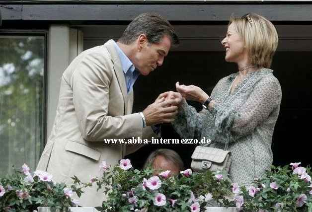 Pierce Brosnan und Frida