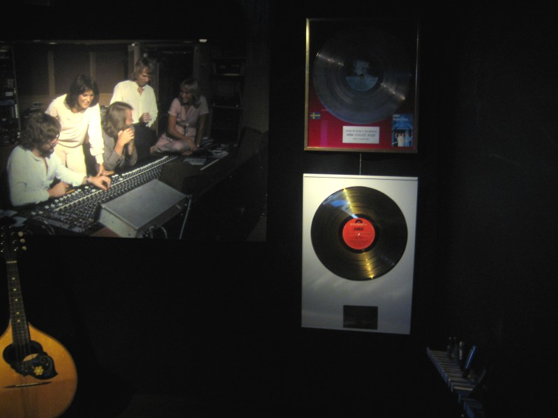ABBA display at the Stockholm Music & Theatre Museum - Photo © Ralf Hendricks