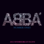 ABBA Number Ones-Aufkleber