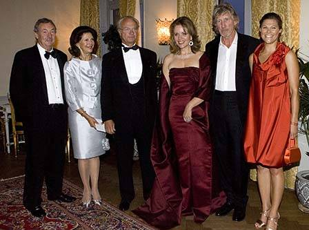The Swedish Royal Family with the winners at the Polar Prize gala