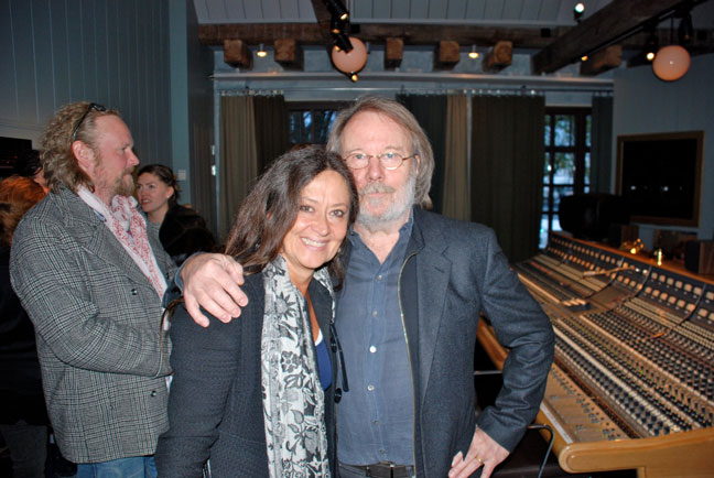 Benny Andersson and Anna-Lotta Larsson