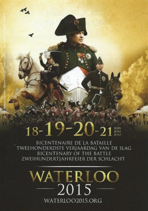 Waterloo-Gedenkfeier 2015