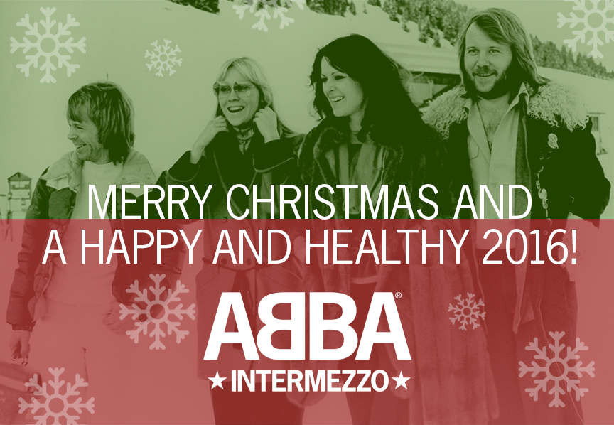 Merry Christmas and a happy and healthy 2016 from ABBA Intermezzo